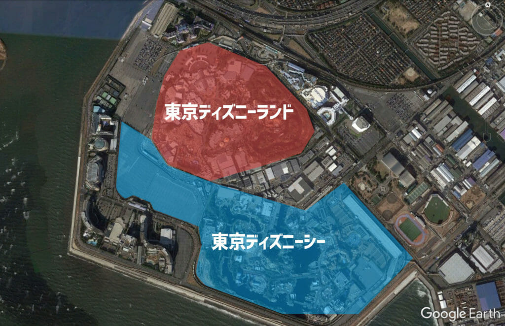 将来のリゾート図