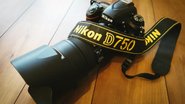ニコンD750に24-70f2.8