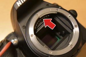 カメラ側接点