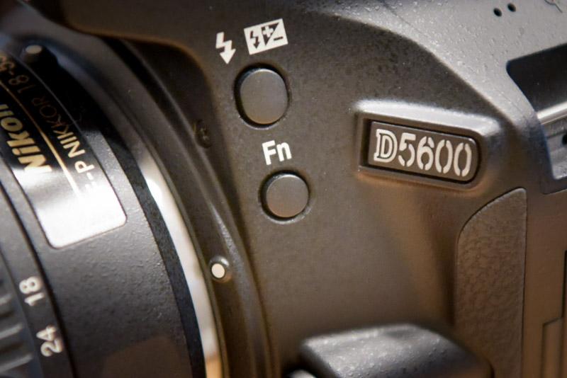 D5600のファンクションボタン