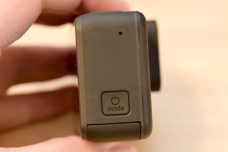 電源ボタンはモード切り替えと共有