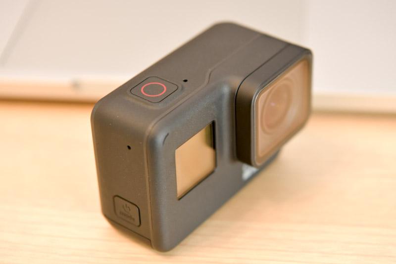電源ボタンと録画ボタン