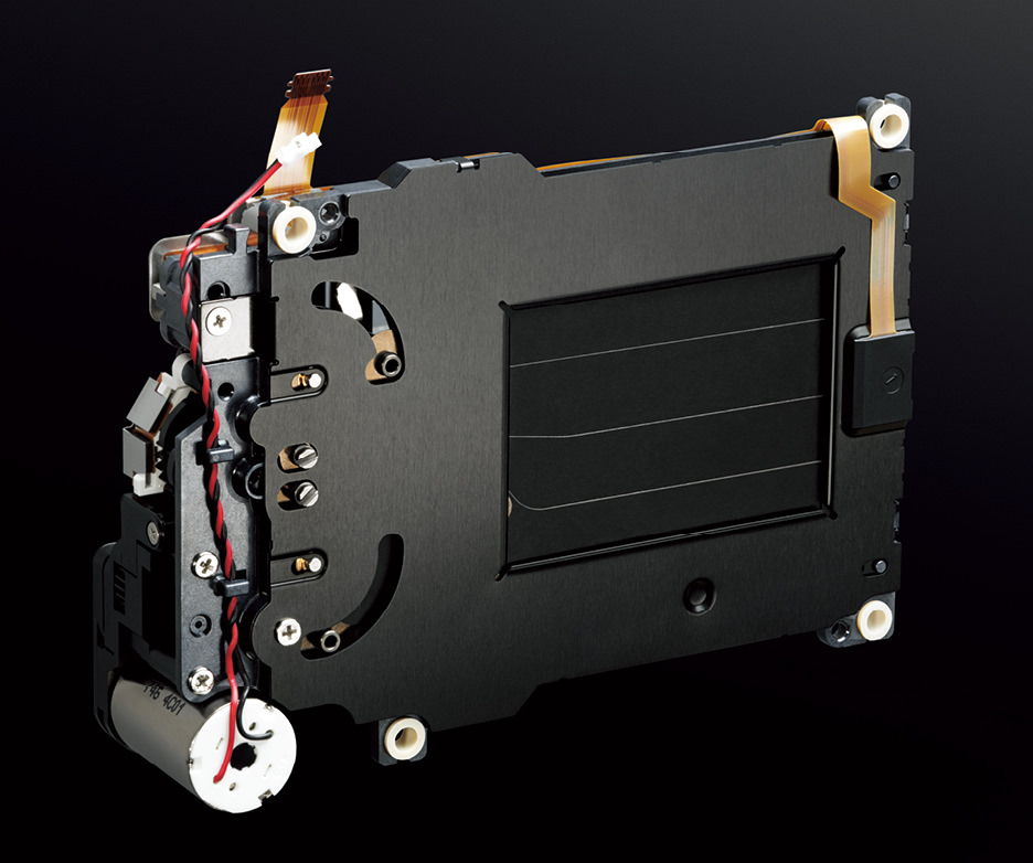 ニコンZ6のシャッターユニット