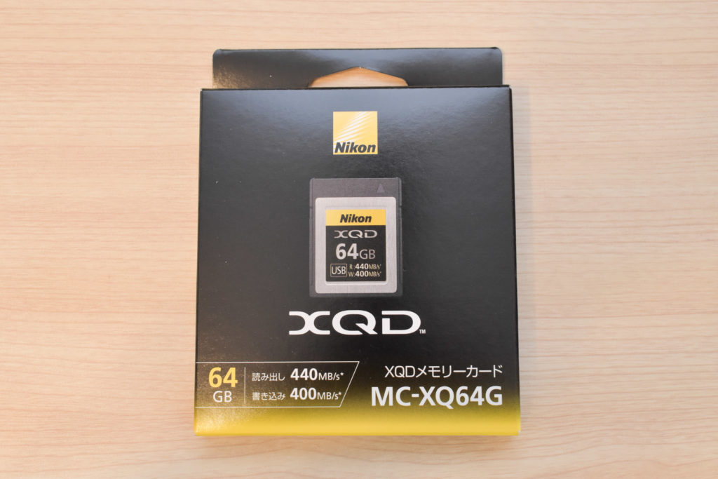 XQDカード