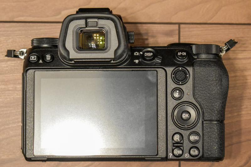 Z6 背面ボタン配置