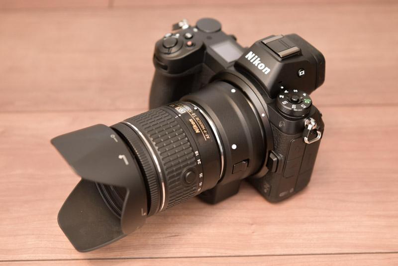 Z6 + AF-P DX NIKKOR 18-55mm f/3.5-5.6G VR