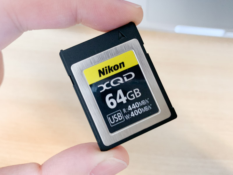 ニコンXQDカード64GB