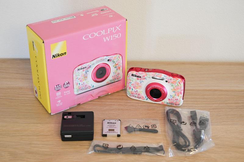 ニコン COOLPIX W150の内容品
