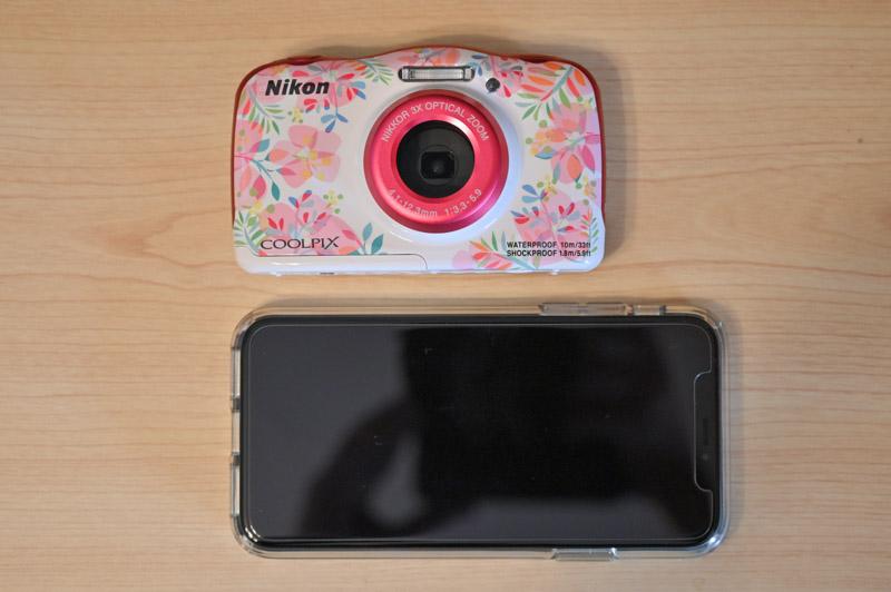 iphone xsとのサイズ比較