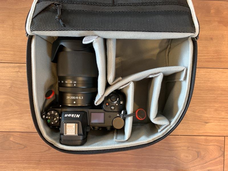 NIKKOR Z 24-200mm f/4-6.3 VRはギリギリ入る