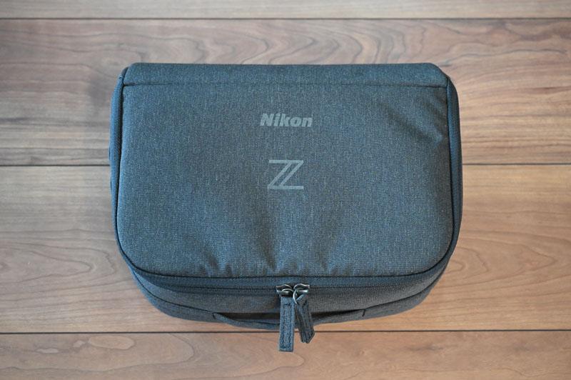 Nikon Z シリーズ用ジャストフィットバッグインバッグの外観