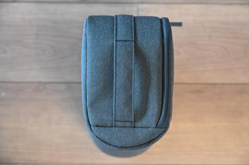 Nikon Z シリーズ用ジャストフィットバッグインバッグの下部は丸くラウンド加工